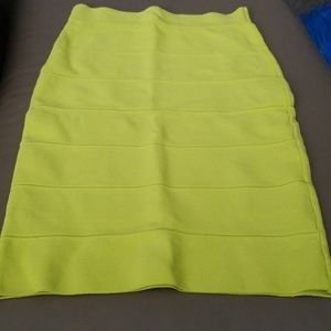 Fitted Stretch Skirt